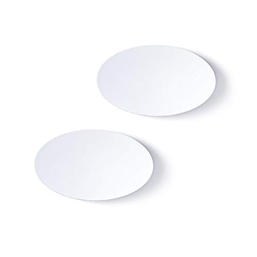 Darice Bulk Buy DIY Mirror Oval 3 x 5 inches 2 Pieces (6-Pack) 1633-91