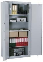 Stahlbüroschrank Aktenschrank Dokumentenschrank Stahlschrank 1950x1200x500mm , doppelwandig