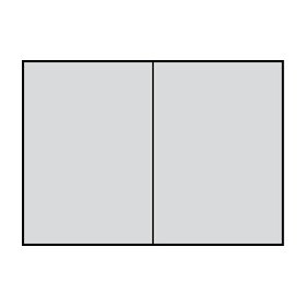 Paperado A5 Folded Card - Ice Grey (Pack of 5)