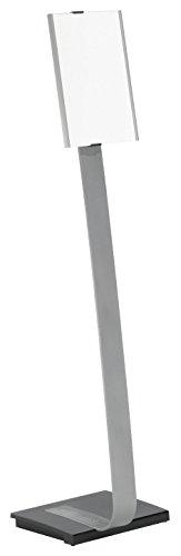 Durable 481223 Präsentationsständer Info Sign stand A4, hoch oder quer, 360 x 80 x 1180 mm