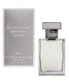 87025744f Image Unavailable. Image not available for. Colour  Ralph Lauren Romance  Silver Fragrance For Men 50ml EDT Spray