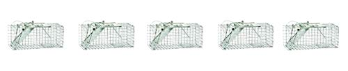Havahart 1083 Easy Set One-Door Cage Trap for Squirrels and Small Rabbits (5-(Pack)) ()
