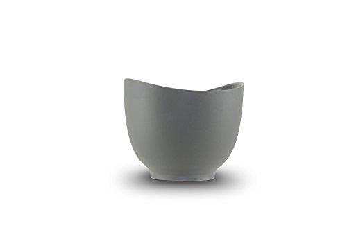 (iSi Basics 1 quart Flexible Silicone Mixing Bowl - Graphite, Gray)
