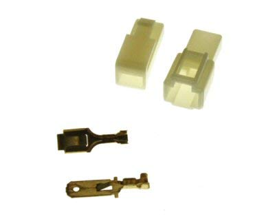 1 Pin Connector Kit - 6.3mm Pin