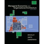 Managerial Economics and Organizational Architecture by Brickley, James, Smith, Clifford, Zimmerman, Jerold [McGraw-Hill/Irwin,2006] [Hardcover] 4TH EDITION