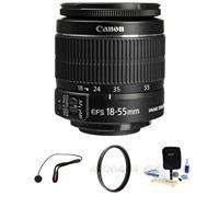 EFS 18-55mm f/3.5-5.6 IS Lens Bundle. USA. Value KIt with