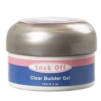 Tips Ibd Clear (IBD Flase Nails Clear Soak Off Builder Gel, 0.5 Ounce)