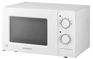 Daewoo Kor6l77 Microwave, 700w, 20l, White, Daewoo New: Amazon.co.uk