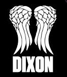Daryl Dixon Wings Decal 5 inch WHITE | Walking Dead | Zombie Lucielle| Baseball Bat Barbed Wire |Truck SUV Motorcycle Helmet Vans| Wall Art | Laptop Notebook Tablet Macbook