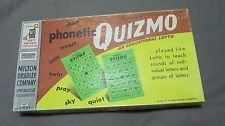 (Quizmo Phonetic Educational Lotto Game 1957)