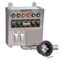 Reliance Controls 30216A Generator Transfer Switch 7500W 30A by Reliance Controls
