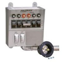 Reliance Controls 30216A Generator Transfer Switch 7500W 30A
