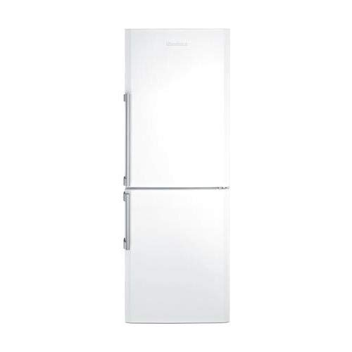 Blomberg BRFB1044WH 24'' Bottom Freezer Refrigerator with 12 cu. ft. Capacity Hygiene+ Antibacterial Seal NoFrost Technology Duocycle and LED Lighting in by Blomberg