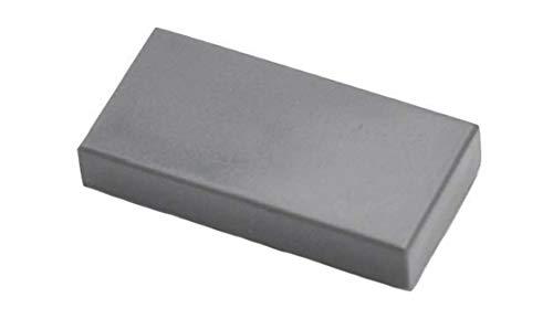 Parts/Elements - Accessories New 1 x 2 Dark Stone Gray Tile (x50)