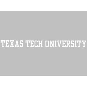 Texas Tech University S89768 Window Decals