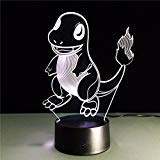 AIBULB Fashion Charmander Pocket Monster Lamp 3D Night Light Halloween Kids Toys Holiday Gift]()