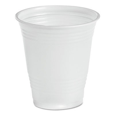 Boardwalk TRANSCUP14CT Translucent Plastic Cold Cups, 14oz, 50 Per Bag (Case of 20 Bags)