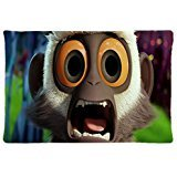 Steve Cloudy with a Chance of Meatballs Custom Personalized Zippered Rectangle Throw Cushion Pillow Case 20x30 Inch