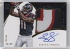 #4: Jaelen Strong #16/49 (Football Card) 2015 Panini Immaculate Collection - Premium Patches Rookie Autographs #PPR-JS