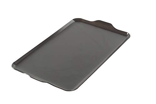 "Nordic Ware 10-1/4-Inch by 17-1/2-Inch 2 Burner Griddle 16.5"" x 9.875"" x .375"", Black"