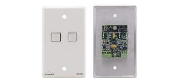 Rs 232 Wall Plate - Kramer Electronics RC-2C Wall Plate RS-232 and IR Controller
