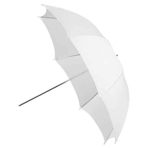 Fotodiox Premium Grade Studio Umbrella 33-Inch Shoot Through - Translucent Neutral White ()