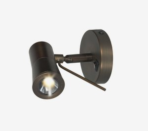 - Cyprus-2  LED Light Wall Sconce - Bronze Finish