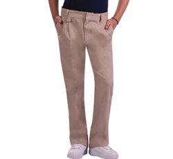 Adjustable Waist Pleated Pant, Khaki, 20.5 ()