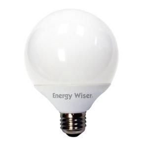 (Pack of 6) Bulbrite 505113 CF14G25CW/E 14-watt Compact Fluorescent G25 Globe, Medium Base, Cool White, 60W Equivalent ()