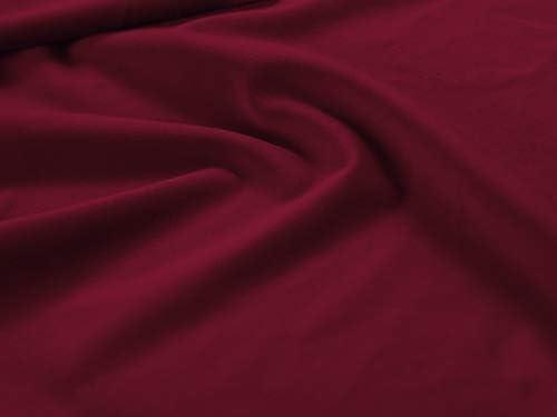 Milo Interiors Velvet Sitzsack, Lulu, 1 Sitz, Rot, 65 x 65 x 47 cm