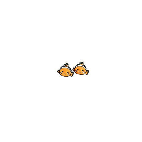 Finding Nemo Logo Superhero Comics Cartoon Post Stud Earrings In Gift -