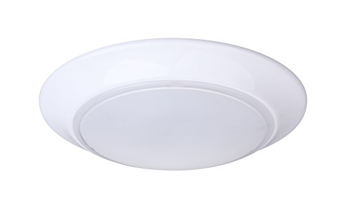 Lit-Path 7.5 inch LED Flush Mount Ceiling Lighting Fixture, 11.5W (75W Equivalent), Dimmable, 800 Lumen, ETL and ES Qualified by LIT-PaTH