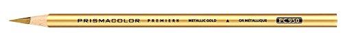 Prismacolor Premier Colored Pencil Open Stock-Metallic Gold