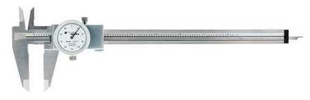 Sharpe Dial Caliper (Dial Caliper, Stainless Steel, White)