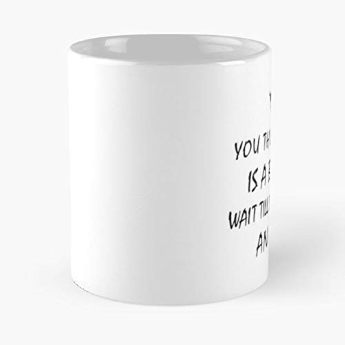 Aries Karma Bitch Tank Geek Gift Cool Present Mom - Ceramic Novelty Cup Best Gift For Father Day