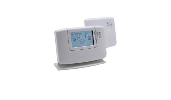 Honeywell CM 927 RF - Reloj con termostato (inalámbrico): Amazon.es: Bricolaje y herramientas