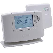 Honeywell CM 927 RF - Reloj con termostato (inalámbrico)
