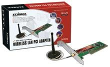 Edimax EW-7128G Wireless 802.11b/g Turbo Mode PCI Adapter