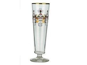 Lindemans Brewery Flute Glass - Kriek Beer