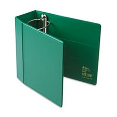 ** Heavy-Duty Vinyl EZD Reference Binder With Finger Hole, 5\