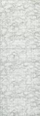 Friedola Bodenbelag Matte Sympa Nova PREMIUM Weichschaum marble grey Marmor weiss grau 130 Meterware