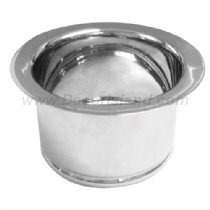 Westbrass D2081-51 Extra Deep In-Sink-Erator Disposal Flange, Pwdr Coat Almond by Westbrass