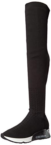Ash Lola Over Knee Black Women's Boot The As aC4xCwz8Bq