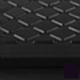 Black Stair Tread Rubber Square Nose 48