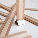 Original Booster Wooden Wick 3/4'' x 5'', Pack of 100
