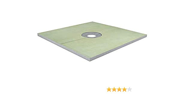 Profilitec Pre-Fabricated Shower Tray 72 in x 72 in