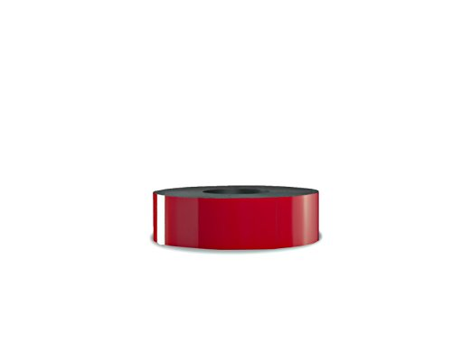 30 Mil Dry Erase Magnetic Strip Roll - Red - 2'' X 25' by Discount Magnet