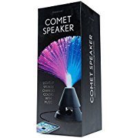 [Comet Speakers Stereo Dancing Water White Base Speaker Light Show Speakers Portable Colorful LED Floating Fish Music Box Water Fountain Amplifier Water Dance] (Android 17 And 18 Costumes)