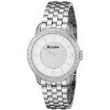 Bulova Women's 96R184 Analog Display Analog Quartz Silver Watch