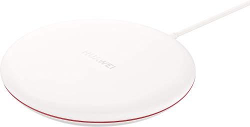 Huawei 55030353 – Cargador inalambrico 10V/4A, conexión Cable Tipo C, Rojo/Blanco